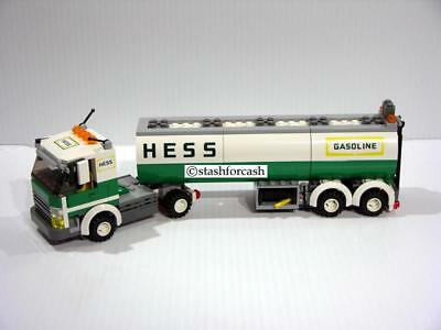 Hess Tanker Truck Made With Lego's - Must See Fantasy Piece!