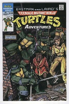 Teenage Mutant Ninja Turtles Adventures #1 1988 Archie VFNM