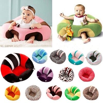 Baby Support Seat Soft Chair Car Cushion Sofa Plush Pillow Learning To Sit Xmas