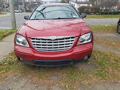 2004 Chrysler Pacifica Loaded Leather 2004 chrysler pacifica AWD Leather, Moonroof, New Engine cradle frame, New Parts