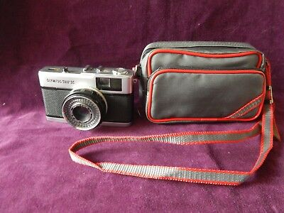 Old Olympus Trip 35 Camera With Zuiko 1:28 Lens