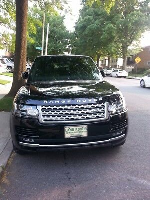 2014 Land Rover Range Rover  Limited Edition Range Rover Autobiography Black Supercharged 2014 LWB