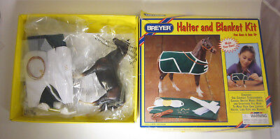 BREYER Thoroughbred Model Horse Free US Ship Halter Blanket Swaps '00 #4102 6""