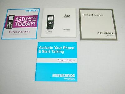 Kyocera Jax TLake 10001 Cell Mobile Phone User Guide Manual Replacement No Phone