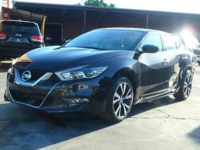 2016 Nissan Maxima 3.5 2016 Nissan Maxima 3.5 Sedan Damage Repairable Luxurious Perfect Fixer Must See!