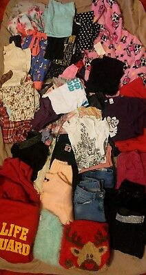 HUGE Bundle Girls Clothes Dresses Jumpers tops  * next * 8 9 10 11 12 * 48 items