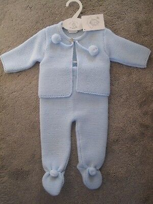 Dandelion Boys Knitted Suit 0-3 months BNWT
