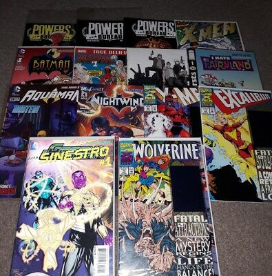 job lot of comics  17 issurs
