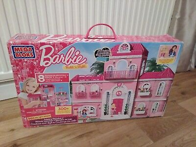 Mega Bloks Barbie Luxury Mansion new & factory sealed box
