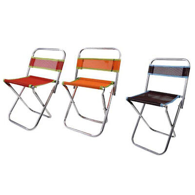 Foldable Chair Garden Seat Patio Chair Fold Up Seat Camping Fishing Chairs