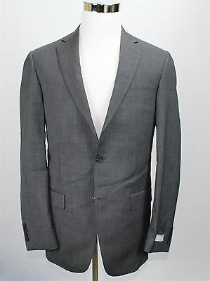 NWT Hart Schaffner Marx Men's Suit 40L-33W Gray Micro Check Made USA MSRP $795