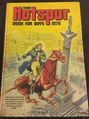 The Hotspot Book For Boys 1976 Annual Vintage