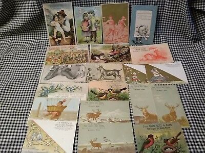 Victorian Advertising Trade Cards LOT OF 20 #3