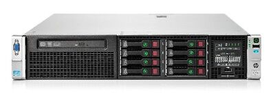 HP Proliant DL380p G8 SFF 8xBays/2x I-Xeon E5-2620 2.0GHz/16GB RAM/P420i/1x750W