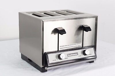 Toastmaster TP424 Pop-Up Four Slice Bread & Texas Toast Toaster - 208/240v