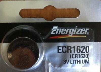 CR 1620 Energizer LITHIUM BATTERY (1 piece) 3V Authorized Seller.