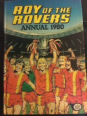 Roy Of The Rovers Annual 1980 Hardback Vintage