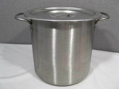 8 quart VOLLRATH Stainless Steel Covered Stock Pot with Lid ~ Clean - No Burn ~