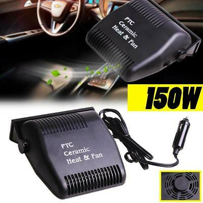 Car Heating and Cooling Fan 150W 12V Portable Heater Defroster Demister Car Fan