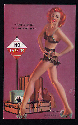 "Mutoscope Artist Pinup Card ~ ZOE MOZERT  "" Got A Little Behind "" from VENDING"