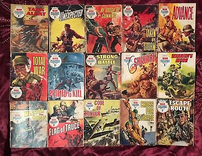 Vintage Collection of War Picture Library 100+ Issues 1960's - 1970's