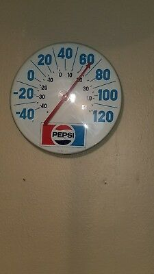 Vintage pepsi thermometer sign 18 inches