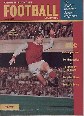 Charles Buchan's Football Monthly Magazine - April 1965