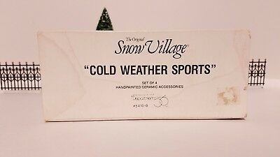 Department 56 - Cold Weather Sports Part Number: 56.54100
