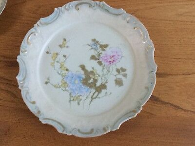 Antique Vintage Hand Painted Oriental Plate, possibly Japanese Noritake?