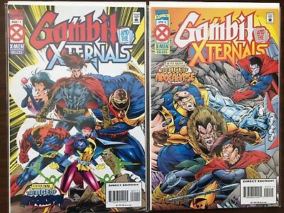 Gambit & The X-Ternals #1-4 (Mar 1995, Marvel) The age of Apocalypse
