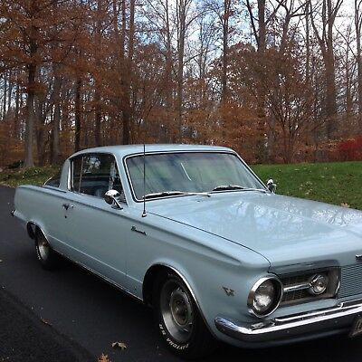 1965 Plymouth Barracuda  1965 PLYMOUTH BARRACUDA 273 CI V8 AUTOMATIC VERY NICE CONDITION