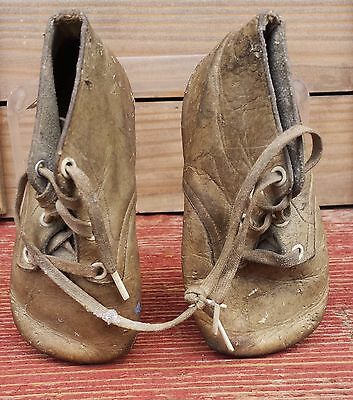 Vintage Collectible Baby Shoes Over 80 Years Old! Great Christmas Tree Ornie