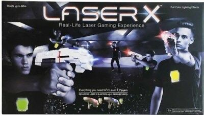 LASER X 2 Player Laser Tag System. (3 Sets Available - This Is For 1 Set Of 2)
