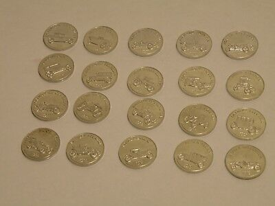 Lot Of 20 Different Sunoco Car Coins Series 1 Great Condition