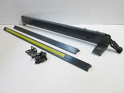 """Sears Craftsman 10"""" Table Saw Rip Fence & Guide Rails, for 27"""" deep tables"""