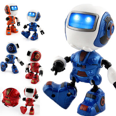Electronic Walking Dancing Smart Space Robot Astronaut Kids Music Light Blue Toy