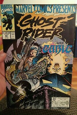 Marvel Comics Presents #90 double comic Ghost Rider and Wolverine (1991, Marvel)