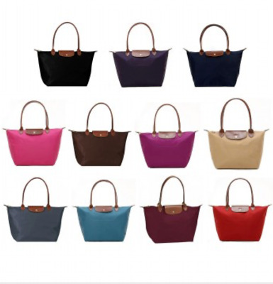 Longchamp New Le Pliage Tote Handbag Large Authentic France assorted colors