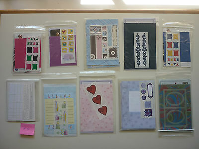 Bundle # 4 Creative Memories Page Completion / TTY KITS ** FREE POST**