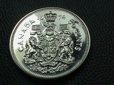 CANADA     50  Cents   1974       PROOF