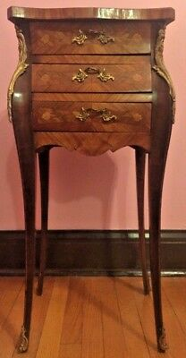 Antique French Louis XV Side Table.