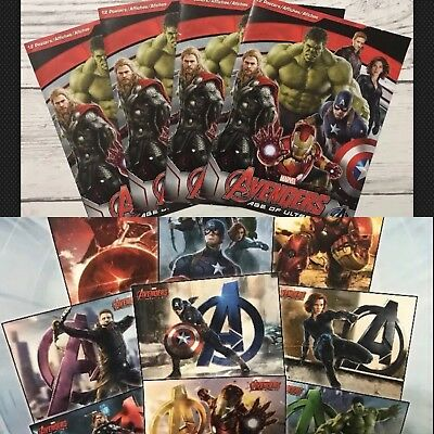 Marvel Avengers Age of Ultron Poster Book-Lot Of 5 -Marvel Posters 🎁