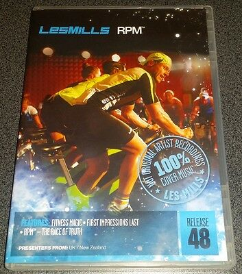 Les Mills RPM 48 DVD + CD + Booklet (100% Genuine)
