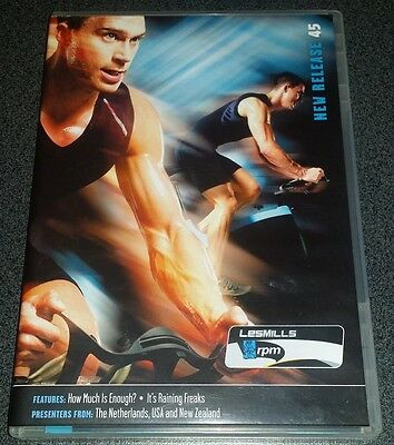 Les Mills RPM 45 DVD + CD + Booklet (100% Genuine)