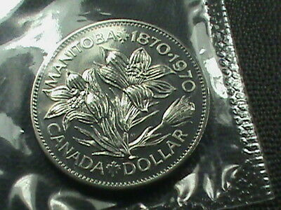 CANADA     1  Dollar   1970    BRILLIANT  UNCIRCULATED   ,   MINT  SET