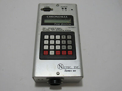 Naztec Chronomax In Ns100-1Rly Time Switch Series 100 Rtc Ap21