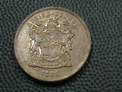 SOUTH  AFRICA    5  Cents    1996