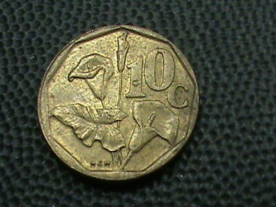 SOUTH  AFRICA    10  Cents    1995
