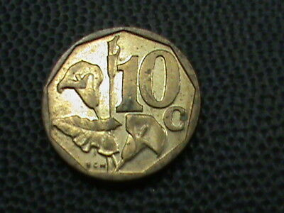 SOUTH  AFRICA    10  Cents    1996