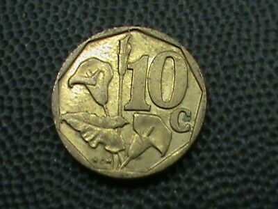 SOUTH  AFRICA    10  Cents    1997